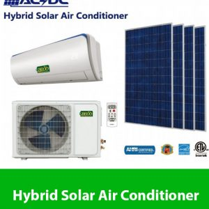 Hybird Solar Air conditioner